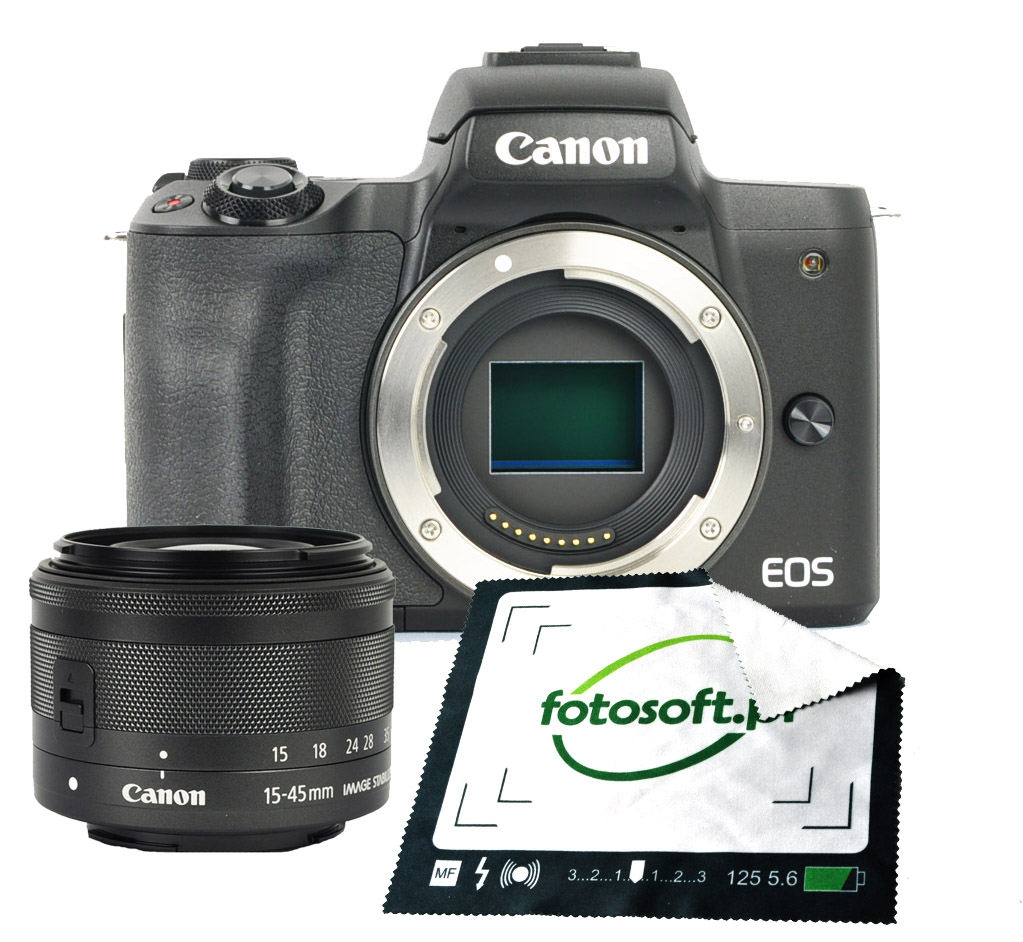 Canon Eos M50 15 45 Mm Is Stm